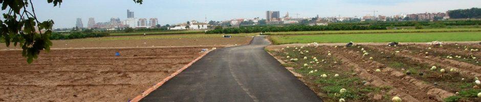 Infraestructuras: Caminos y vía rurales de uso agrario