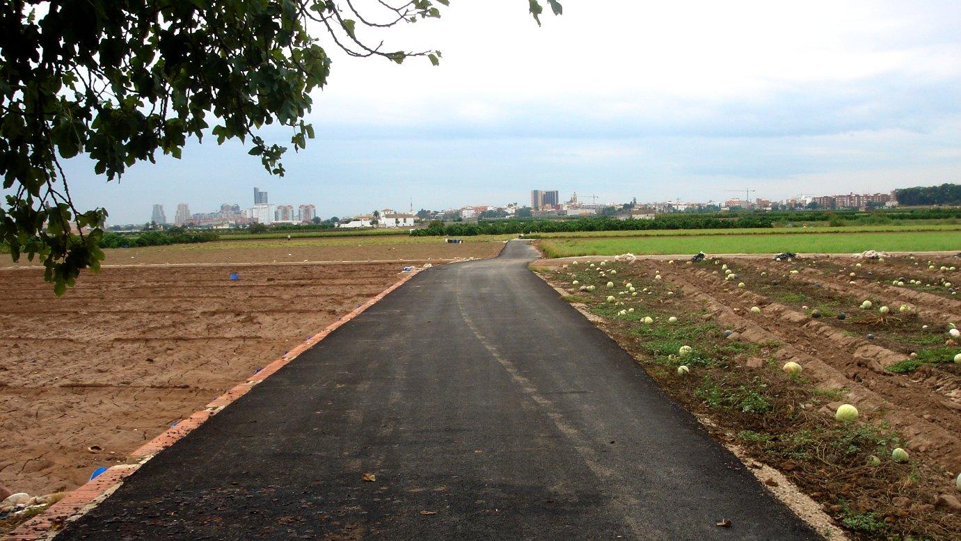 Infraestructures: Camins i via rurals d'ús agrari