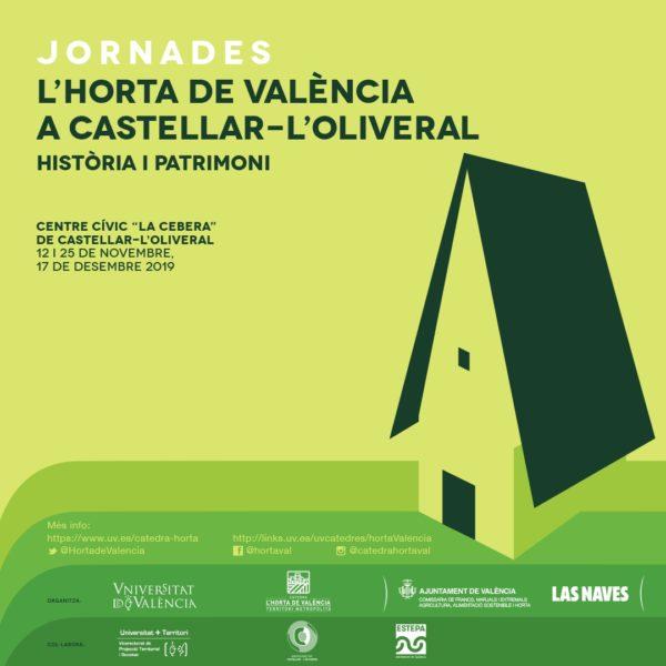 """[:va]Jornades: """"L'Horta de València a Castellar-l'Oliveral. Història i Patrimoni""""[:es]Jornadas: """"L'Horta de Valencia en Castellar-l'Oliveral. Historia i Patrimonio""""[:]"""