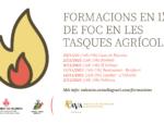 El Consell Agrari i AVA-ASAJA ofereixen una formació sobre l'ús del foc en les tasques agrícoles